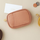 Indi pink - A low hill basic pocket card case pouch