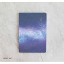 Milky way - PLEPLE My story spiral cornell grid notebook