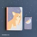Dreaming dog -PLEPLE ChouChou 90 days undated daily journal diary