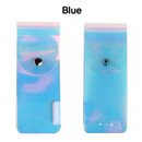 Blue - Hologram pocket jelly pencil case