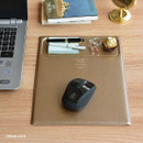 Cream gold - Play obje Square tray with mouse pad