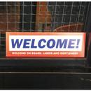 Welcome - Decorative multi message sticker set