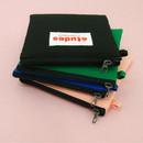 Etudes slim cotton square pouch