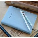 Smoky blue - Notable memory quad lined and plain notebook