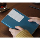 Aqua - Free medium grid notebook