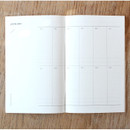 Yearly plan - Poche mois undated monthly planner