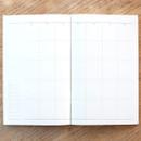 Monthly schedule - Poche voyage travel planner notebook