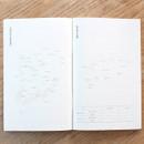 Korea map - Poche voyage travel planner notebook