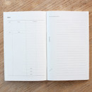 Daily note - Poche voyage travel planner notebook