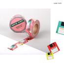 Game over - Vintage retro deco single masking tape