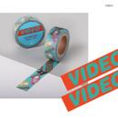 Video - Vintage retro deco single masking tape