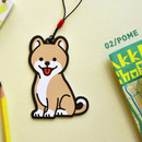 Pome - Jam studio Hello puppy travel luggage name tag