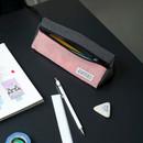 Pink - BNTP Washer long zipper pouch pencil case
