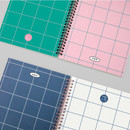BNTP Nice two color spiral lined notebook