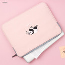 Panda - Tailorbird embroidery 15 inches laptop case