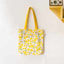 Freesia - Pattern canvas shoulder bag