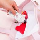 Inner pocket - Pattern canvas shoulder bag