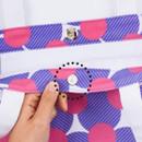 Magnet closure - Pattern canvas shoulder bag