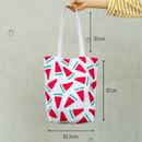 Size of Pattern canvas shoulder bag