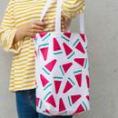 Watermelon - Pattern canvas shoulder bag