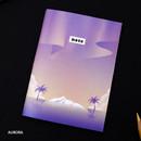 Aurora - Illustration mini small lined notebook