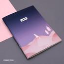 Fennec fox - Illustration mini small lined notebook