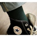 Dailylike Comfortable yours for life daily socks - Dark green