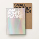 Small 16 months undated monthly planner
