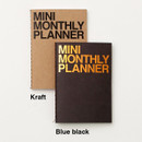 Colors of Mini 16 months undated monthly planner