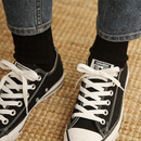 Black - Dailylike Comfortable yours for life knit rib women socks