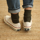 Olive - Dailylike Comfortable yours for life knit rib women socks