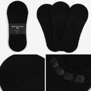 Black - Dailylike Comfortable yours for life men no show socks set
