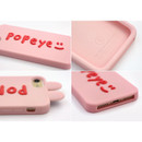 ROMANE Brunch brother popeye silicone case for iPhone 8 7 6s 6
