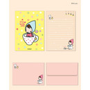 With you - Cute illustration small letter paper and envelope set