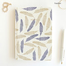 Feather - Florence A5 hardcover lined notebook