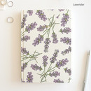 Lavender - Florence A5 hardcover lined notebook