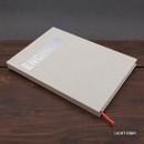 Light gray - Engineer hardcover grid notebook