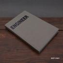 Deep gray - Engineer hardcover grid notebook
