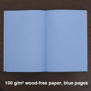 Blue pages - Engineer hardcover grid notebook