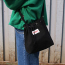 Black - Etude daily cotton bucket bag