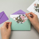 Envelope - Blossom illustration letter paper and envelope set