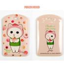 Peach hood - Jetoy Choo Choo cat travel luggage name tag ver2