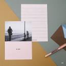01 - Moment illustration letter paper and envelope set