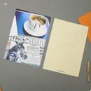 06 - Moment illustration letter paper and envelope set