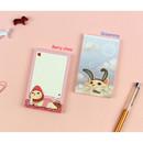 Berry choo & Groommy -  Jetoy Choo Choo cat memo notepad