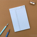 Sky blue - 10 minutes daily plan memo notepad