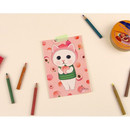 Peach hood - Jetoy Choo Choo cat post card