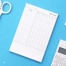 01 - Habit tracker memo notepad