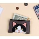 Jewelry - Jetoy Choo Choo cat flat zipper card case