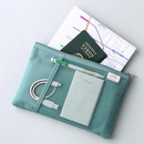 Dim mint - Livework A low hill basic mesh pocket daily pouch